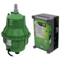 Bomba Anauger Solar R100 Para Reservatório E Cisterna Com Drive E Com Módulo Solar