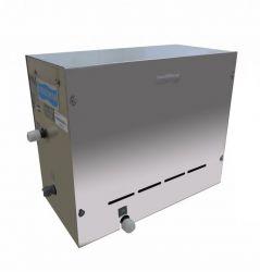 Sauna a Vapor Steam Inox com Voltagem Universal 12 KW  com 4 M de cabo