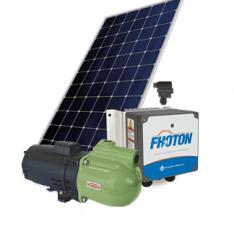 Sistema De Pressurização Schneider Fothon Solarpack Autoaspirante ASP-98SL 3/4CV com 5 Painéis Solares