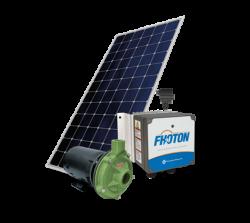 Sistema De Pressurização Schneider Fothon Solarpack Centrifuga BC-91SL 3/4CV com 4 Painéis Solares