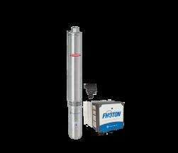 Sistema De Pressurização Schneider Fothon SolarPack Submersa SP SUB25-20S4E10 1,5CV