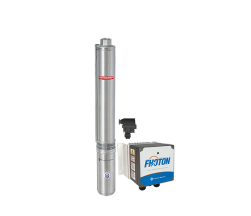 Sistema De Pressurização Schneider Fhoton SolarPak Submersa SP SUB40-20S4E8 1,5CV