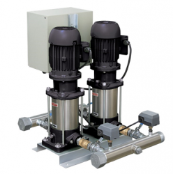 Sistema De Pressurização Schneider SKID 2X VME-9540 4,0 CV Trifásico 220V