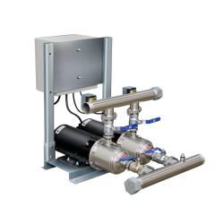 Sistema De Pressurização Schneider SKID 2X ME-HI 5315 1,5 CV Trifásico 220V