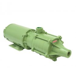 Bomba Centrífuga Schneider ME-AL 1740 N 4,0 CV  Monofásico 220/440V com Capacitor