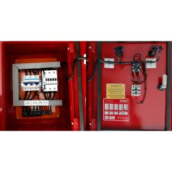 Painel de Comando Dimensionar para bomba de incêndio  5 CV 220V Trifásico