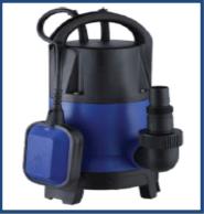 Bomba CRI Submersa p/ Esgoto ou Água com Sólidos MP-6T750 1,0HP Monofásico 220V 60Hz