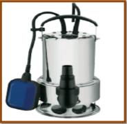 Bomba CRI Submersa p/ Esgoto ou Água com Sólidos MS-6S750 1,0HP Monofásico 220V 60Hz