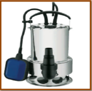 Bomba CRI Submersa p/ Esgoto ou Água com Sólidos MS-6S900 1,2HP Monofásico 220V 60Hz
