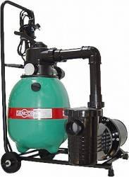 Conjunto Filtro e Bomba Dancor para Piscina de até 17.600 lts DFR-11 Com Carrinho Monofásico