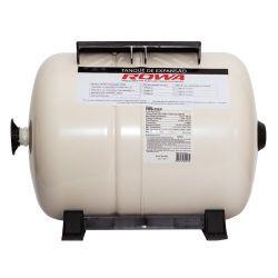 Tanque de Expansão Rowa Aço Carbono Horizontal 35 Litros
