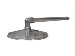 """Ducha Cascata de 8"""" em Alumínio c/ cano de 3/4"""" Sodramar baixa pressão até 1,5 kg-cm² Vazão: 8,0 L por minuto"""