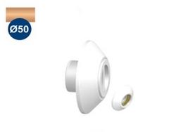 """Dispositivo de Aspiração em ABS Pratic Sodramar de 1 1/2"""" c/ rosca latão p/ piscina de alvenaria (Tubo Ø 50)"""